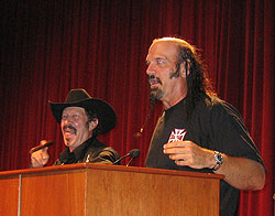 Kinky Friedman and Jesse Ventura