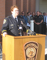 Assistant Police Chief Vicki King