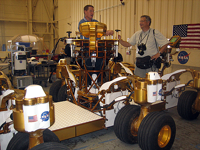 image of the lunar rover wheel assembly