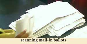 image of scanning mail in ballots