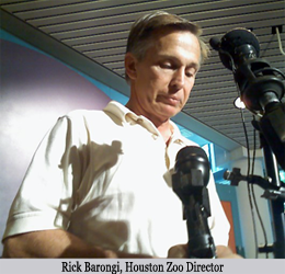 image of Rick Barongi, Houston Zoo Director