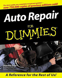 image of Auto Repair for Dummies front cover
