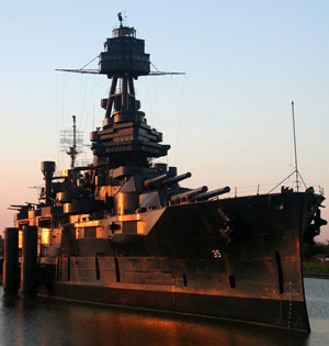image of Battleship of Texas