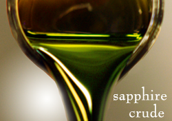image of sapphire crude