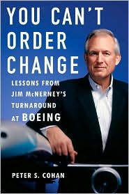 image of Can't Order Change: Lessons from Jim McNerney's Turnaround book cover