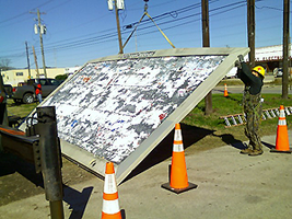 image of billboard removal