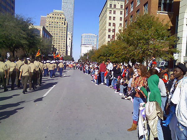 image of Houston MLK parade