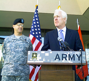 image of Texas Senator John Cornyn speaking