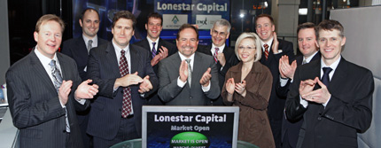 image of Lonestar Capital Corp. Opens the Market