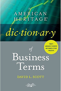 image of American Heritage Dictionary of Business Terms book cover
