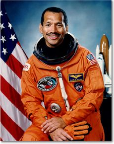 image of astronaut Charles Bolden