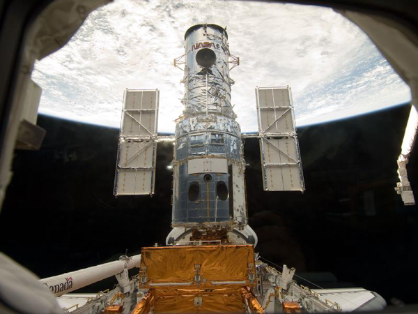 image of the Hubble Space Telescope