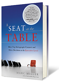 image of Marc Miller's book cover A Seat at the Table