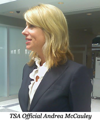 TSA Official Andrea McCauley