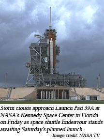 image of shuttle on Friday