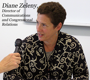 image of Congressional Relations Director Diane Zeleny