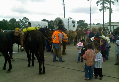 trail riders with kids
