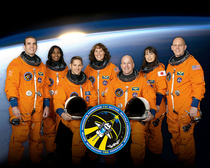 STS-131 Official Crew Photo