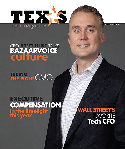 TX CEO magazine cover