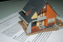 home mortgage papers