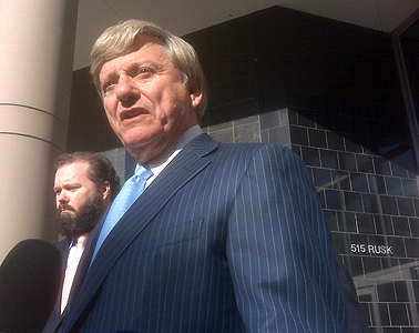 Rusty Hardin, Jerry Eversole's attorney