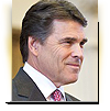 Governor Rick Perry released his suggested budget and gave his state of the state speech to lawmakers today. The governor painted a rosy picture of the Texas economy — despite the fact that his budget slashes some state agencies altogether and cuts others by ninety percent. Laurie Johnson reports.