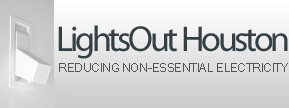 Lights Out Houston logo