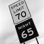 Traveling Texas roads at nighttime might get you home a little bit faster. The state has been behind the times when it comes to speed limits, but that's all about to change as of today.