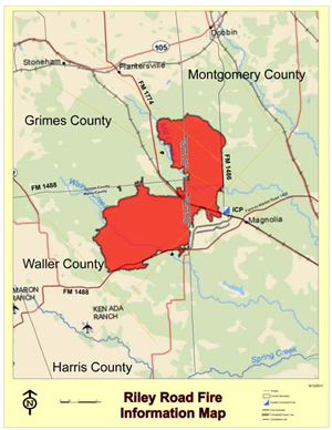 Riley Road Fire Map