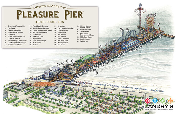 Pleasure Pier Rendering