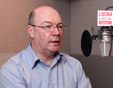 Alistair Burt and Andrew Schneider