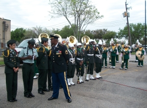 The Worthing High Marching Band