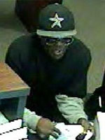 Green bank robber