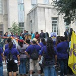 After weeks of strikes and stalled negotiations — Houston janitors will meet with building owners tomorrow to work out a labor contract. Janitors are asking for a raise to ten dollars an hour.