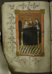 An image of medieval monks