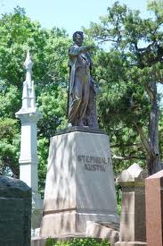 The grave of Stephen F. Austin