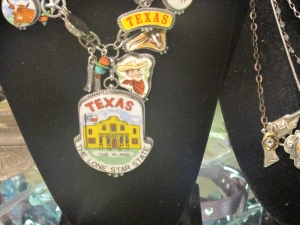 Trinkets available at Rodeo Vendor Patty Lewis's booth