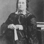 Portrait of Susanna Dickinson, Given to McArdle When She Was Mrs. Hannig, The McArdle Notebooks, Archives and Information Services Division, Texas State Library and Archives Commission.