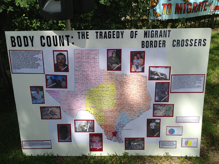 Body Count map and images