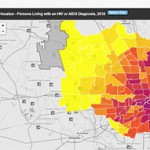 The Centers for Disease Control and Prevention says the Houston ranks 9th in U.S cities when it comes to people living with an HIV diagnosis. There's a new interactive map that breaks down, by zip code, where those infections are. The architects of the map hope it will help both individuals, and HIV service organizations, make better informed decisions on how to deal with the epidemic.