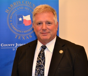 Mark Sloan, coordinator for the Harris County Office of Emergency Management