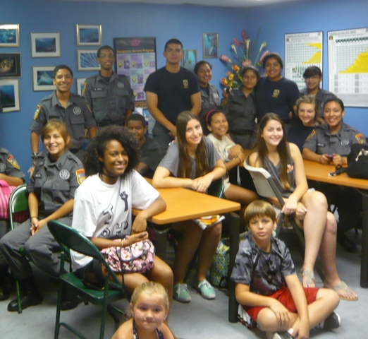Houston Scuba Academy partnered with the Harris County Sheriff's Office