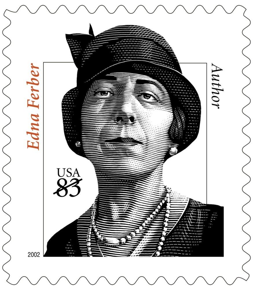 copy of USPS Stamp of Edna Ferber