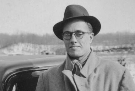 Folklorist John Avery Lomax