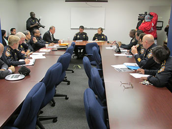 command staff meeting