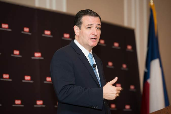 """Ted Cruz was the speaker at the Greater Houston Partnership's """"State of the Senate"""" luncheon for the first time. As you might expect, the controversial senator re-emphasized some of the issues he most cares about."""