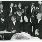 It was fifty years ago today that President John F. Kennedy was in the middle of a short swing through Texas as he tried to shore-up support in a state where voters weren't so sure about re-electing him in 1964. Kennedy's brief visit to Houston on Thursday, November 21, 1963, was the last full day of his life.