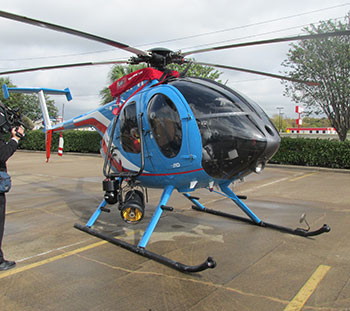 Houston Police Department Tactical Support helicopter