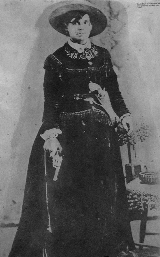 portrait of Belle Starr
