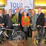 Houston's signature cycling event Tour de Houston is not only a recommended ride through the city, but prepares cyclists for the MS 150, all while benefiting city parks.